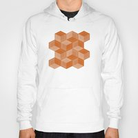 escher Hoodies featuring Escher #002 by rob art | simple