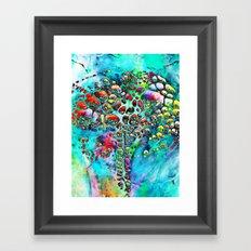 Colored Tafoni 4 Framed Art Print