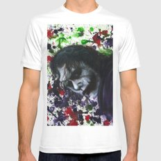 Colour Chaos Mens Fitted Tee MEDIUM White