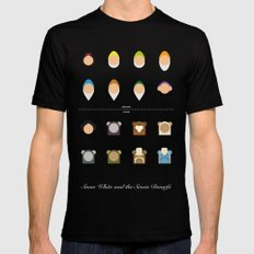 Famous Capsules - New Casting Black SMALL Mens Fitted Tee