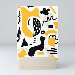 Shapes 3 Mini Art Print