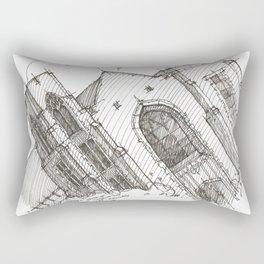 Oa[k]cliff Temple Rectangular Pillow