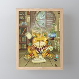 Kepler the Scribe Framed Mini Art Print