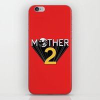 earthbound iPhone & iPod Skins featuring Mother 2 / Earthbound Promo by Studio Momo╰༼ ಠ益ಠ ༽