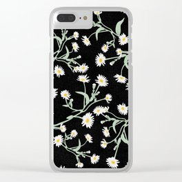 Oxeye (Black) Clear iPhone Case