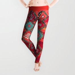 N18 - Traditional Colored Oriental Moroccan Artwork Leggings