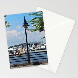 Riverfront Scene Stationery Cards