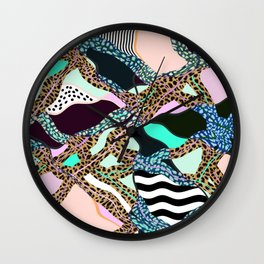 ELECTRIC VIBES Wall Clock