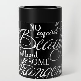 Strange Skullerflies - EA Poe Quote Can Cooler