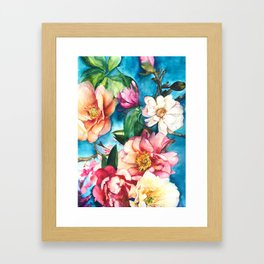 Tropical Floral I Framed Art Print