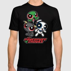 The Powerpuft Ghouls Mens Fitted Tee Black MEDIUM