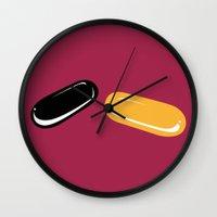 matrix Wall Clocks featuring Matrix by FilmsQuiz