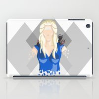 daenerys iPad Cases featuring Daenerys Targaryen by itsamoose