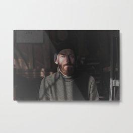 58 / Man portrait Metal Print