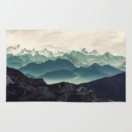 Shades of Mountain Rug