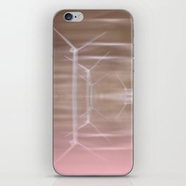 Ghostly turbines iPhone Skin