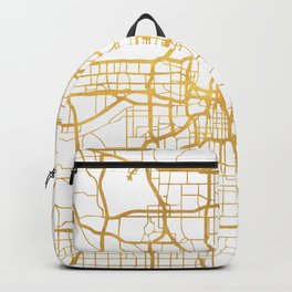 KANSAS CITY MISSOURI CITY STREET MAP ART Backpack