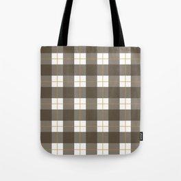 Fall Plaid Tote Bag