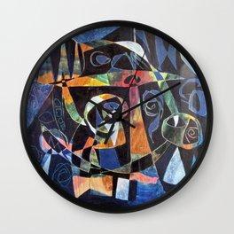 La notte Wall Clock