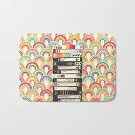VHS & Rainbows Bath Mat