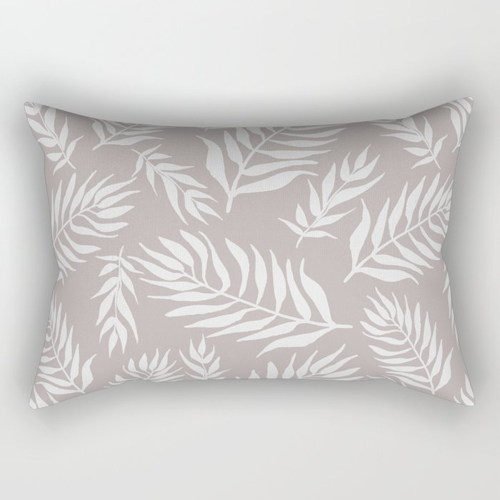 soft and pretty leaf pattern Rectangular Pillow
