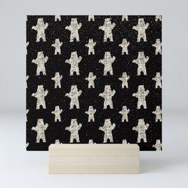 Polar Bear in Winter Snow on Black - Wild Animals - Mix & Match with Simplicity of Life Mini Art Print
