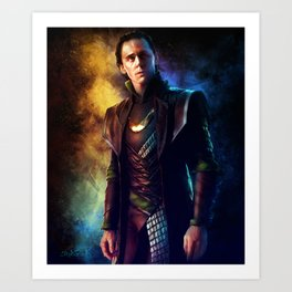 Jotun Asgardian Prince Art Print