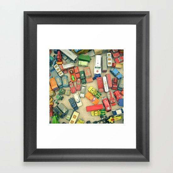 Traffic Jam Framed Art Print