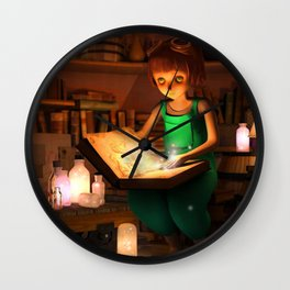 Lily's Magic Room Wall Clock