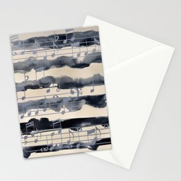 music of the sea Stationery Cards
