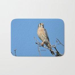 A Kestrel Says Hello Bath Mat