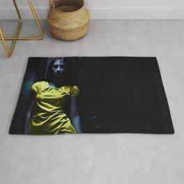 Girl in Yellow Rug