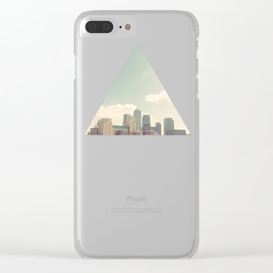 London Skyline Clear iPhone Case