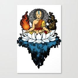 Aang Enlightment Canvas Print