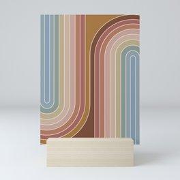 Gradient Curvature IX Mini Art Print