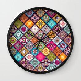 Best Art Formes géométriques décoratifs Wall Clock