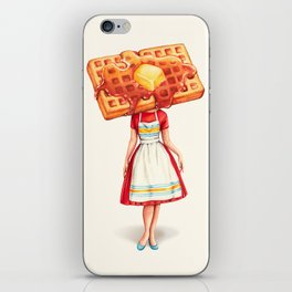 Waffle Housewife iPhone Skin