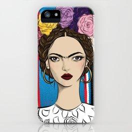 Viva la Frida iPhone Case
