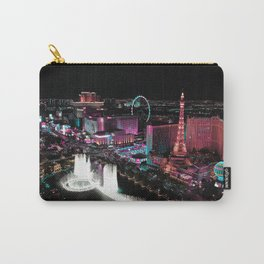Vegas Lights Carry-All Pouch