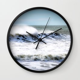 Sea Spray Wall Clock