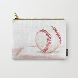 Baseball Watercolor Carry-All Pouch
