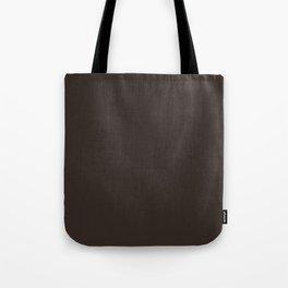 Cocoa Brown - Solid Color Tote Bag