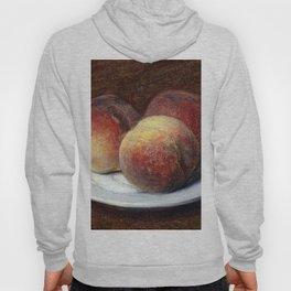 Henri Fantin Latour Three Peaches on a Plate Hoody