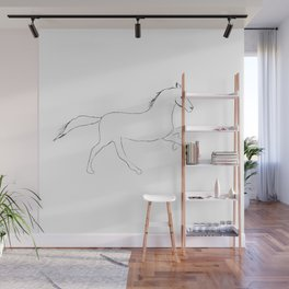 Horse drawing Wall Mural
