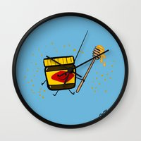 Vegemite Honey Wall Clock