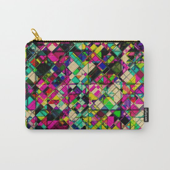 Crystal Cohesion Carry-All Pouch