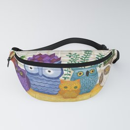 Collections of Owls Fanny Pack