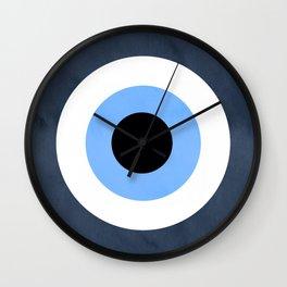 Evil Eye Wall Clock