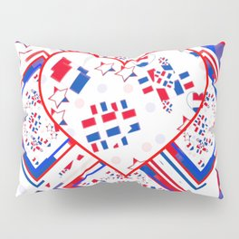 Patriotic Love Fest Pillow Sham