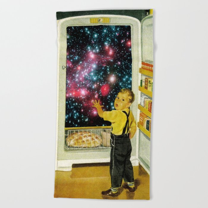 No More Galaxies for Today, Timmy! Beach Towel